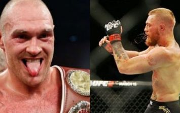 Tyson Fury slates Conor McGregor for tapping out to Nate Diaz