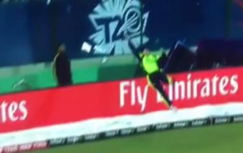 WATCH: Gary Wilson's magical piece of fielding has to be seen to be believed ... genuinely
