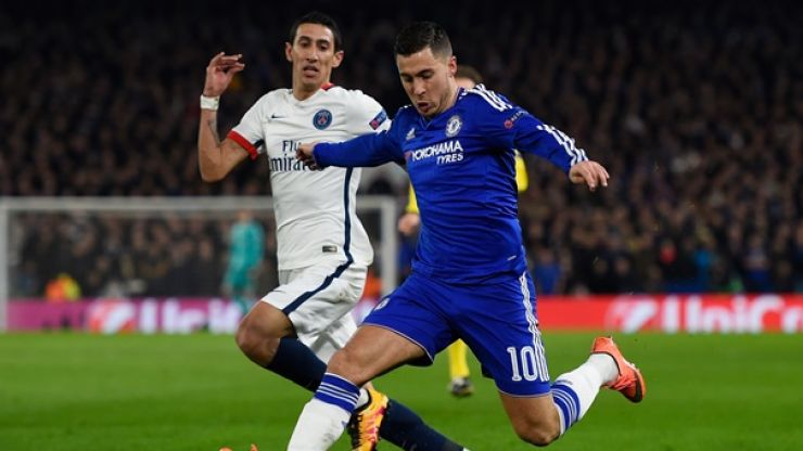 WATCH: One of football's most frowned upon Faux Pas took place at half-time of Chelsea vs. PSG