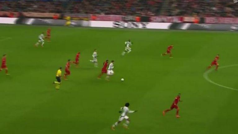 WATCH: Alvaro Morata dances around Bayern Munich defenders en route to sensational assist