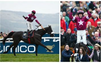 WATCH: The moment Gold Cup winning jockey describes his triumph as 'f**king unbelievable', live on TV