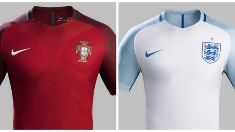 People are not impressed by Nike s notably similar international kit designs 026f661d9