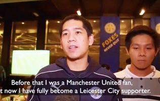 Manchester United and Liverpool fans shamelessly admit switching allegiance to Leicester City