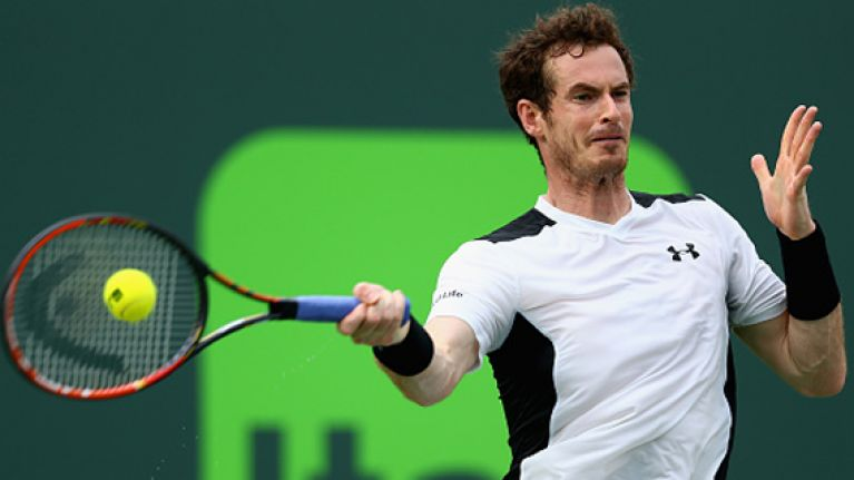 WATCH: Tennis droid Andy Murray finally has anger update installed