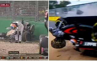 VIDEO: Fernando Alonso somehow walks away from terrifying crash at Australian Grand Prix
