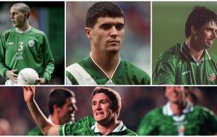 Ranking Ireland's home jerseys of the last three decades