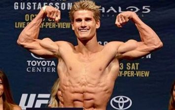 PICS: Sage Northcutt leaks remarkably unremarkable new fight kit for UFC 200