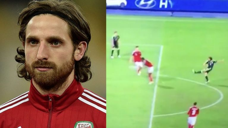 Watch: Goal machine Joe Allen scores an absolute screamer for Wales