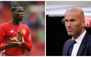 Zinedine Zidane confirms Real Madrid tried to sign Paul Pogba