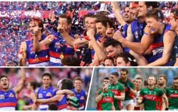 Mayo fans looking for a happy omen will love the Western Bulldogs' brilliant win