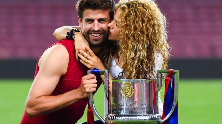 Gerard Pique says he used the world's dullest chat up line to woo Shakira