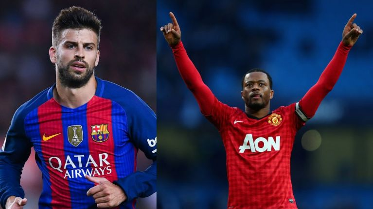 Gerard Pique shares tale of when Manchester United players set fire to Patrice Evra's trainers
