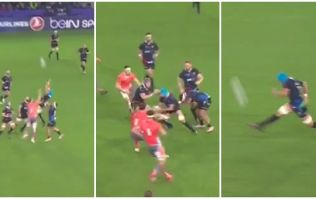 WATCH: No flanker will score a try as good as this ever again