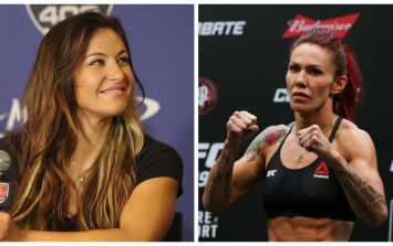 Miesha Tate isn't backing away from Cyborg fight after UFC 205
