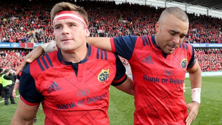 cj stander speaks passionately about what munster support meant to