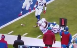 Tom Brady responds perfectly to dildo entering the field of play in win over Bills