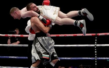 Paddy Barnes' successful professional debut ended in rather odd circumstances