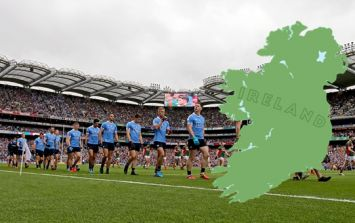 Name the 33 counties of the All-Ireland Football Championship in 180 seconds