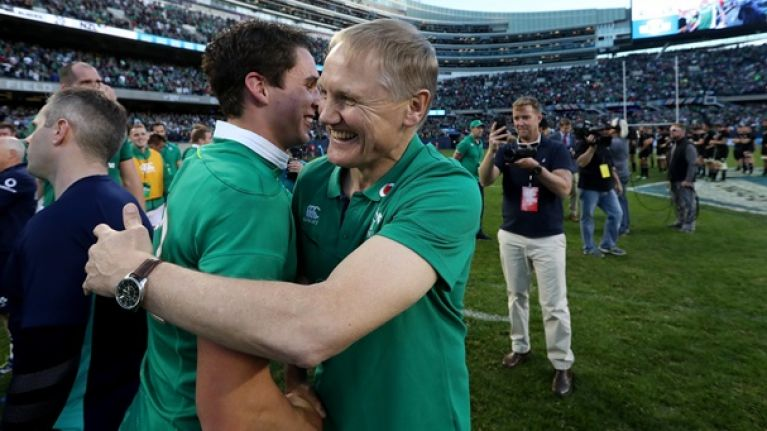 Joe Schmidt has given debuts to 27 different Irish players in exactly three years