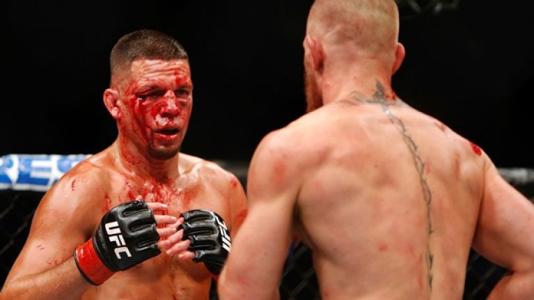 Nate Diaz claims Conor McGregor set an unwanted record at UFC 202