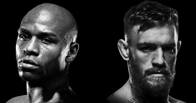 Conor Mcgregor Wallpaper Black And White: Joe Rogan's Scenario Where Conor McGregor Beats Floyd
