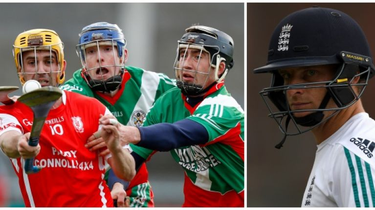 England international cricketers turn to hurling to improve their technique