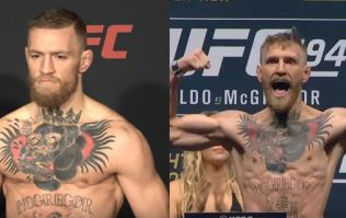 WATCH: Conor McGregor weighing in at UFC 205 compared to the Jose Aldo and Nate Diaz fights
