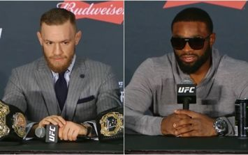 Tyron Woodley is not having Conor McGregor's apology for using homophobic slur