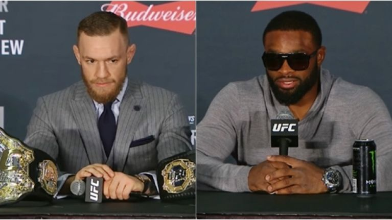 Tyron Woodley predicts how he sees Conor McGregor's UFC return going down