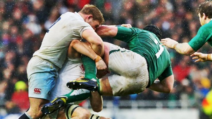 Sean O'Brien and Chris Robshaw agree on rugby's hardest hitter