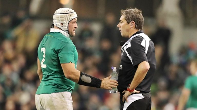 Rory Best's captaincy was immense but his wee chats with the referee were legendary