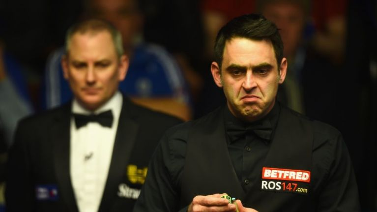 Ronnie O'Sullivan might be the next sports star to get a Hollywood biopic