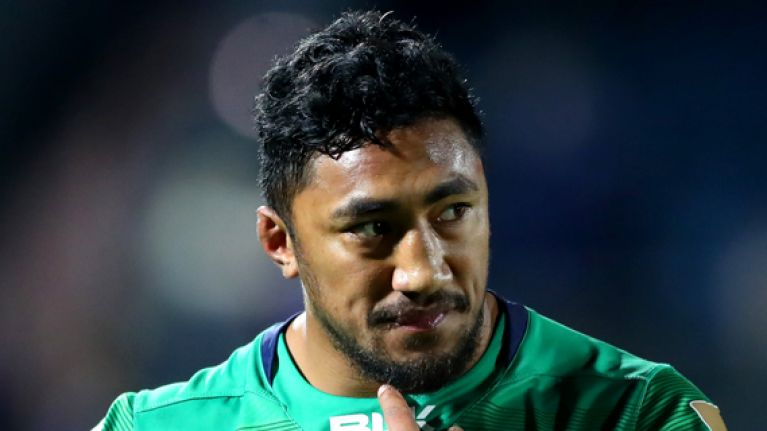 Absolute disaster for Connacht as surgery confirmed for Bundee Aki