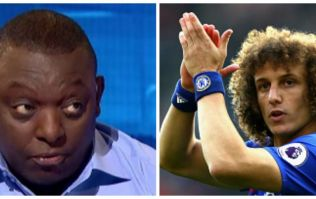 Garth Crooks has given David Luiz credit for a pass he didn't make
