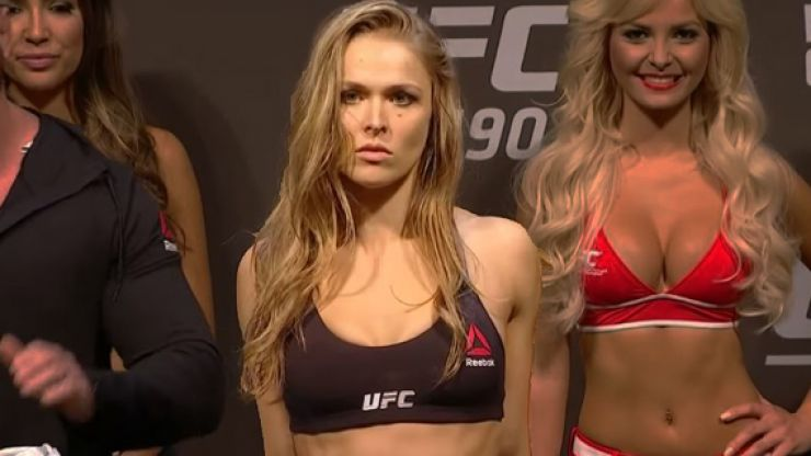 Ronda Rousey headlines 2018 UFC hall of fame class