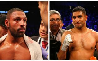 It looks like Amir Khan versus Kell Brook is finally going to happen