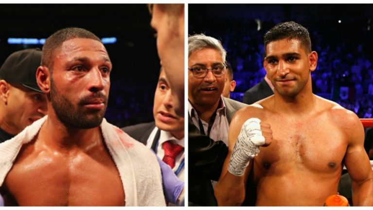 It looks like Amir Khan versus Kell Brook is finally going to happen