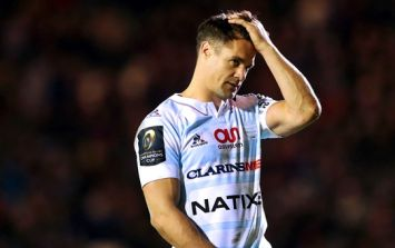 Dan Carter receives hysterical criticism after admittedly awful match stats