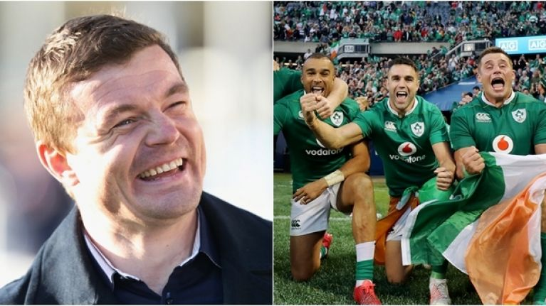 There's no arguing with Brian O'Driscoll about Ireland's best player this year