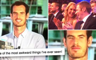 WATCH: Andy Murray make Britain cringe with the most awkward moment of 2016