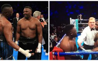 People think Dereck Chisora tried to hump Dillian Whyte's head during their fight