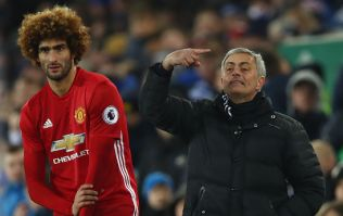 Marouane Fellaini allegedly got booed by Manchester United fans just for warming up