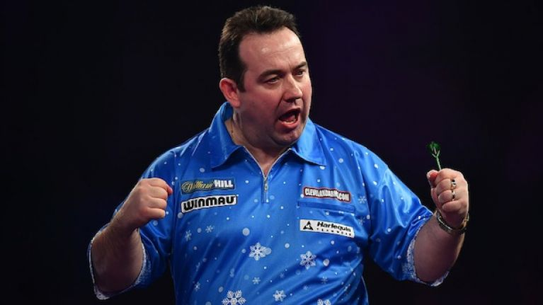 WATCH: Fermanagh man hits a pretty special checkout in World Darts Championship