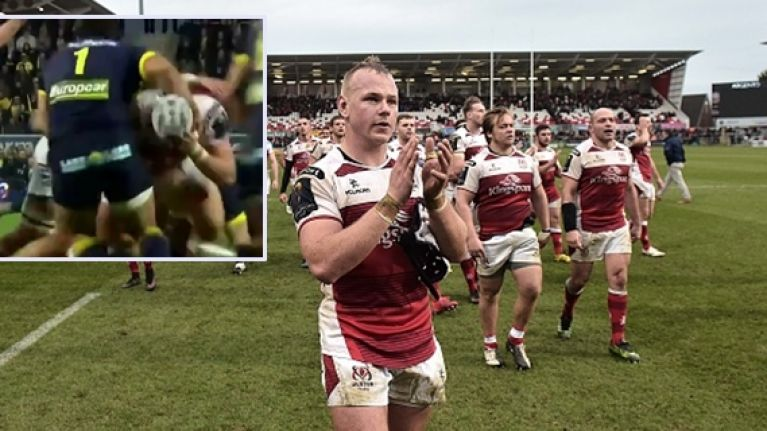Clermont player cited for alleged eye gouge on Ulster's Luke Marshall