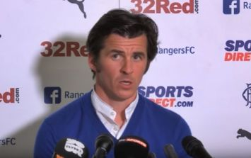 Fleetwood Town are actually trying to sell a Joey Barton documentary