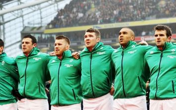 There's an Irish player clearly going on the Lions tour but hardly anyone is talking about him