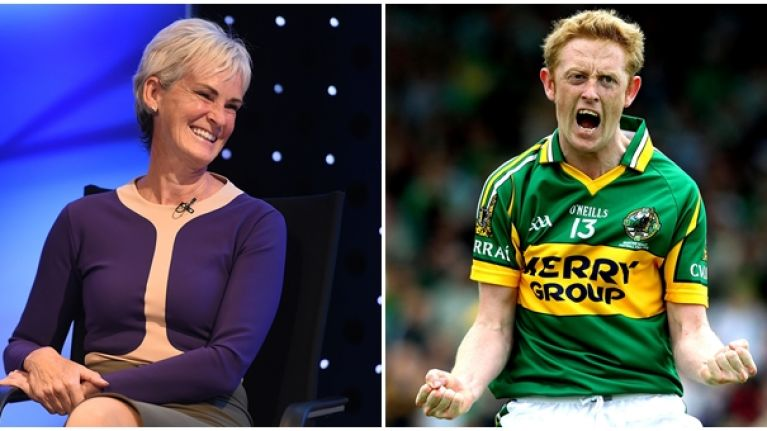 Judy Murray proves she's still one of Colm Cooper's biggest fans with class tribute