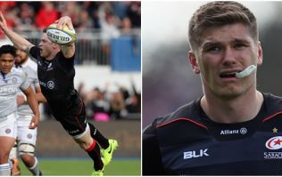 WATCH: Owen Farrell takes no crap as he puts Chris Ashton well in his place