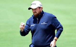 Shane Lowry is in a bloody great position in the first round of the US Masters