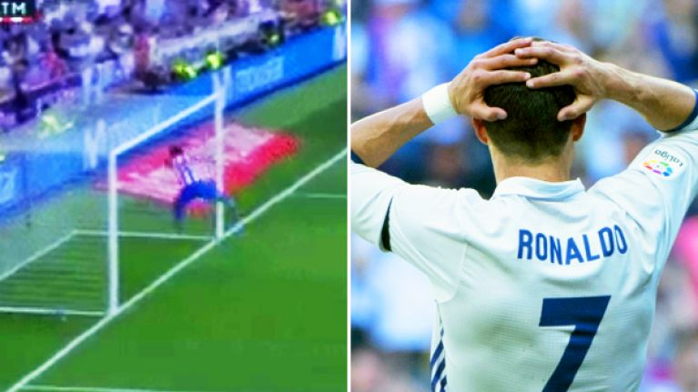 WATCH: Stefan Savic stops certain Cristiano Ronaldo goal with greatest goal line clearance of all time